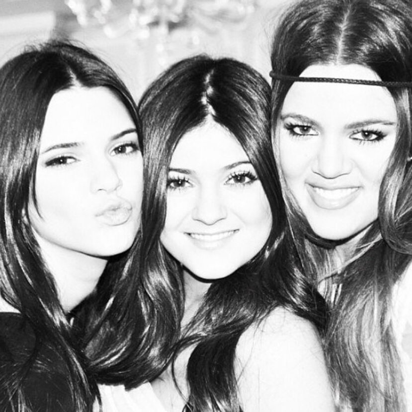 Kendall Jenner, Kylie Jenner i Khloe Kardashian
