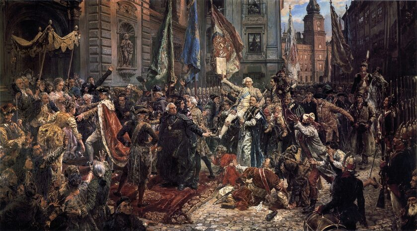 Jan Matejko, Konstytucja 3 Maja 1791 roku