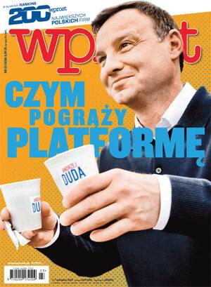 Okładka tygodnika Wprost nr 23/2015 (1682)