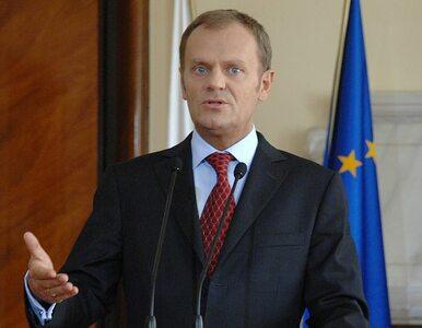 Tusk: nie mam parcia na bycie premierem