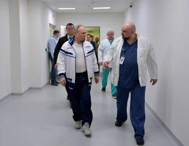 Lekarz oprowadzał Władimira Putina po szpitalu. Kilka dni później...