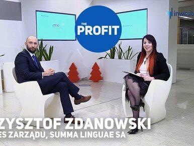 THE PROFIT #83: Krzysztof Zdanowski, Summa Linguae SA