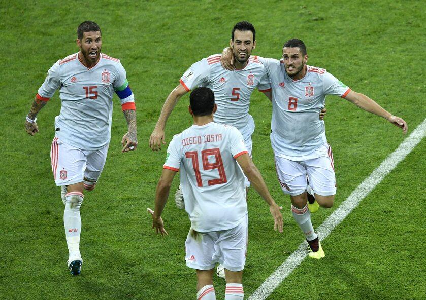 Piłkarze reprezentacji Hiszpanii
