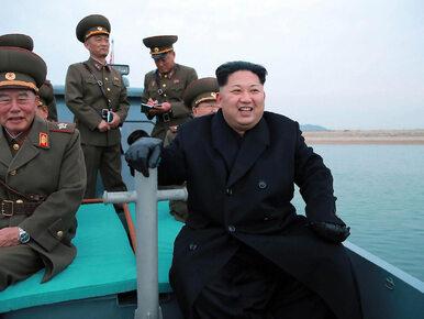 Historyczne spotkanie w strefie zdemilitaryzowanej. Kim Dzong Un...