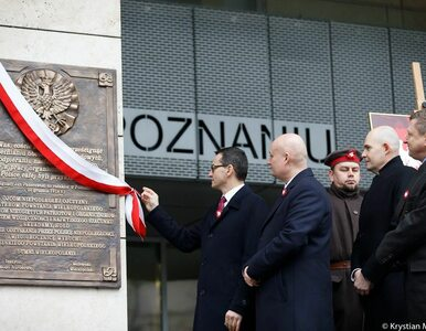 100. rocznica Powstania Wielkopolskiego. Premier: Jesteśmy...