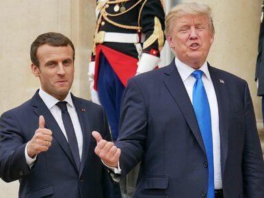 Donald Trump w Paryżu. Pojawiły się różnice zdań