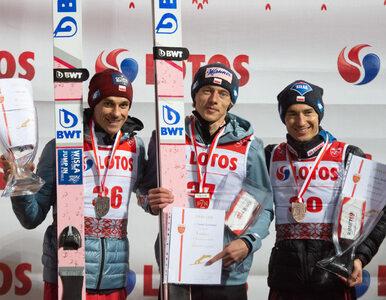 Dawid Kubacki mistrzem Polski w skokach narciarskich na igielicie