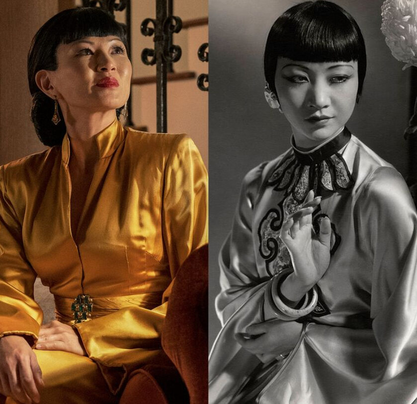"Michelle Krusiec w serialu ""Hollywood"" i Anna May Wong"