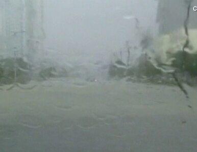 Tajfun dotarł do Chin