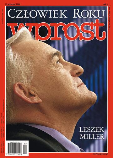 Okładka tygodnika Wprost nr 2/2002 (998)