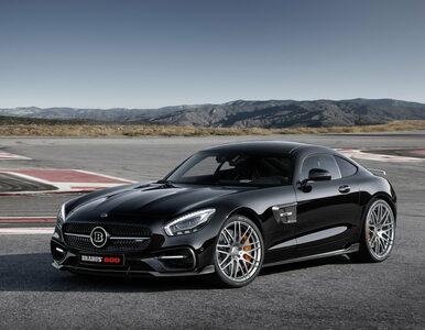 Mercedes-AMG GT jest za wolny? Brabus znalazł rozwiązanie