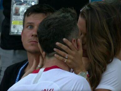 Anna Lewandowska pociesza męża. Scenę uchwyciły kamery