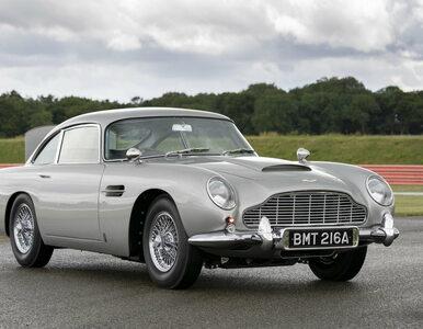 To fabrycznie nowe auto Jamesa Bonda! Pierwszy z 25 egzemplarzy trafił...