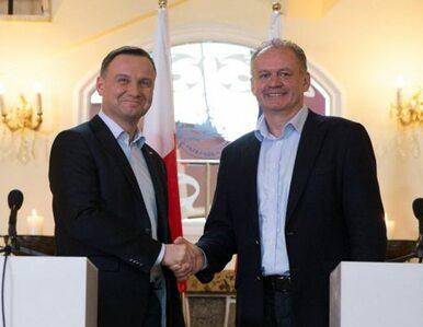 Dyplomacja na nartach. Andrzej Duda z córką u słowackiego prezydenta
