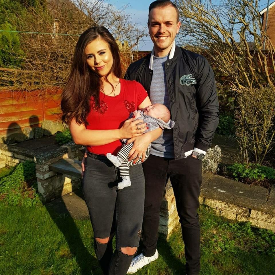 David Llewellyn z rodziną