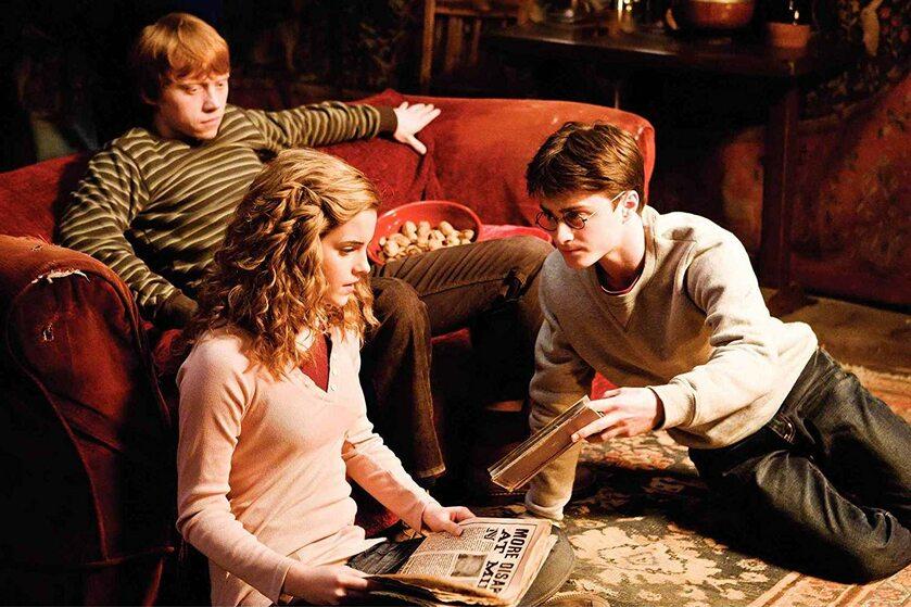 Kadr z filmu o przygodach Harry'ego Pottera