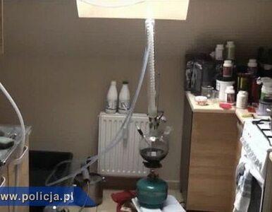 Mobilna fabryka amfetaminy w Katowicach. Działała pełną parą