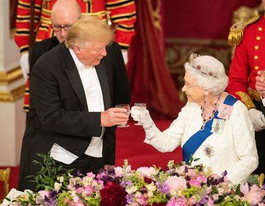 Trump przysypiał podczas przemówienia królowej Elżbiety? Internauci...