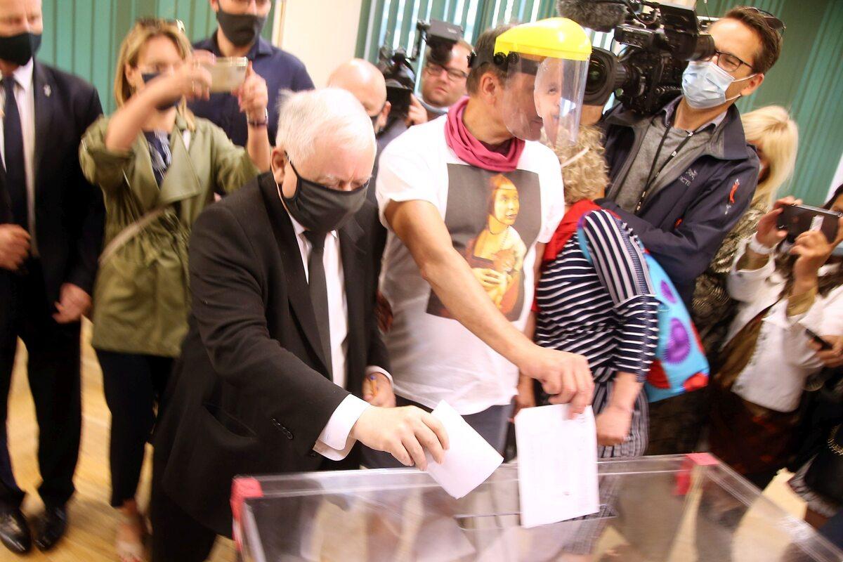 Głosowanie Jarosława Kaczyńskiego