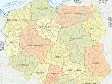 Szykują się zmiany na mapie Polski. Jest projekt rozporządzenia MSWiA