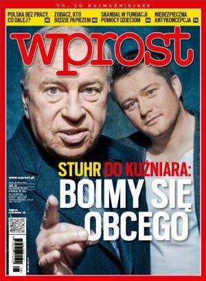 Okładka tygodnika Wprost nr 8/2013 (1565)