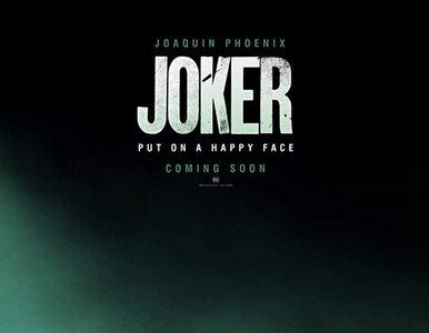 """Pierwszy teaser filmu """"Joker"""". Jak w tej roli wypada Joaquin Phoenix?"""