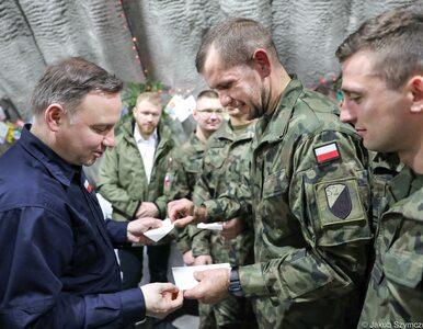 Prezydent Andrzej Duda ze świąteczną wizytą u polskich żołnierzy w Rumunii