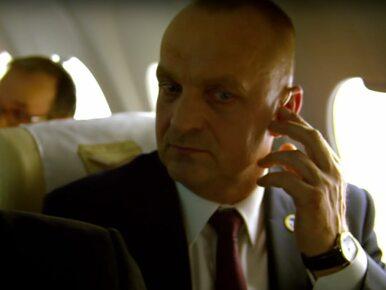 """Co aktor z filmu """"Smoleńsk"""" robi w niedostępnych sejmowych korytarzach?..."""