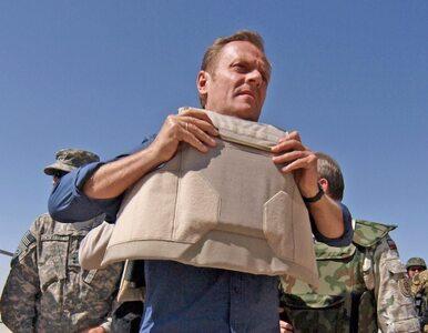 """Tusk w Afganistanie pożegnał poległych żołnierzy. """"Nieśli pokój, nie wojnę"""""""
