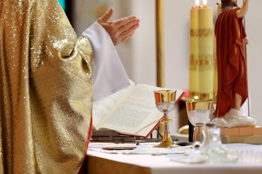 Msza święta, zdj. ilustracyjne