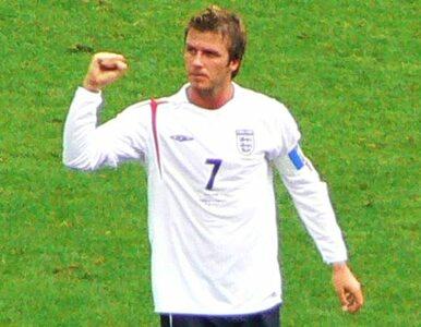 Reprezentacja Anglii jednak bez Beckhama!