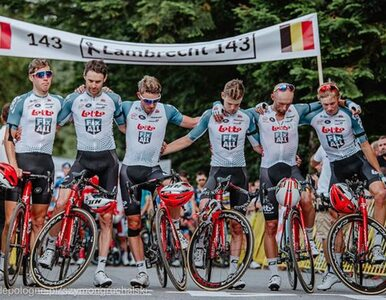 Tour de Pologne. Minuta ciszy ku czci Bjorga Lambrechta