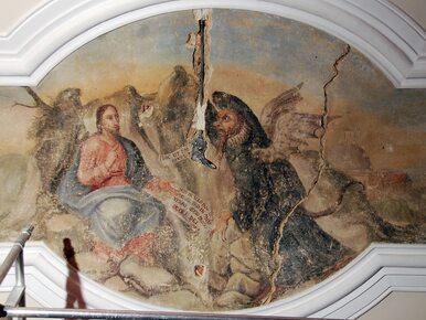 W poznańskim ratuszu odnaleziono... fresk z szatanem