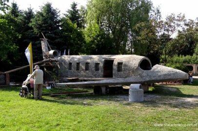 Makieta tupolewa w Kałkowie