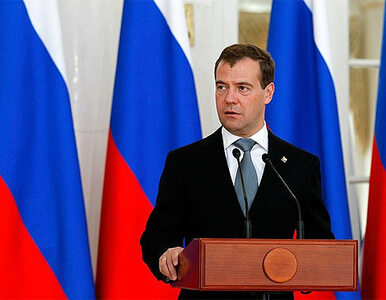 Miedwiediew broni weta Rosji w sprawie Syrii