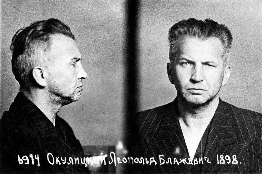 Leopold Okulicki po aresztowaniu przez NKWD w 1945
