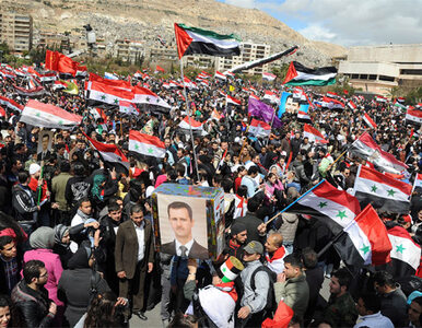 Rocznica wybuchu oporu. Tłumy na ulicach Damaszku