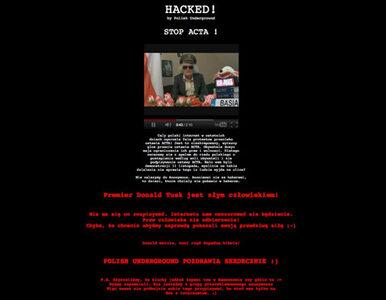 """""""Tusk jest złym człowiekiem"""". Hakerzy przejęli stronę premiera"""