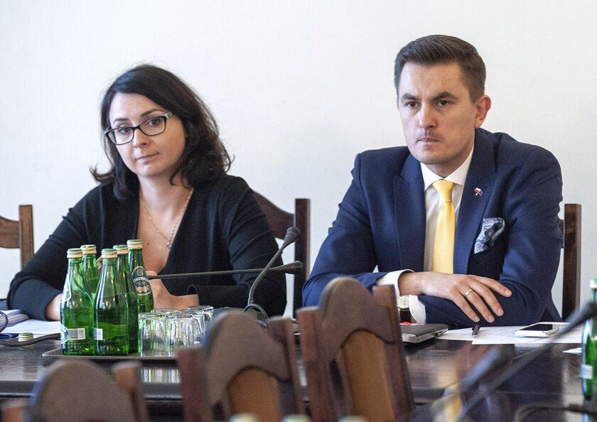 Kamila Gasiuk-Pihowicz i Arkadiusz Myrcha