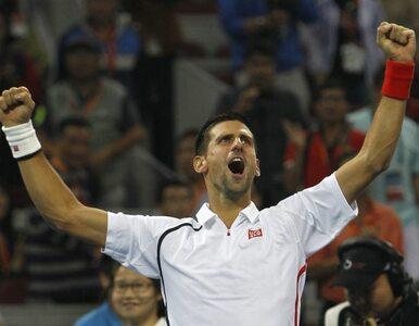 """Triumf Djokovica w Pekinie. """"Chcę być pierwszy w rankingu"""""""