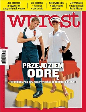 Okładka tygodnika Wprost nr 17/2011 (1472)