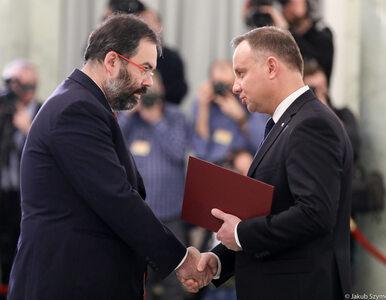 """Andrzej Duda powołał nowych członków PKW. """"Wasza rola jest fundamentalna"""""""