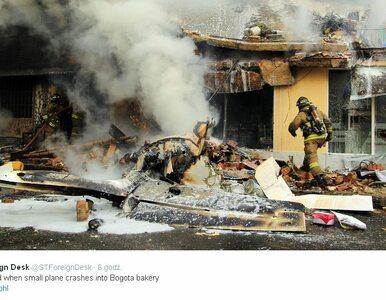 Samolot spadł na dzielnicę domów mieszkalnych. Nie żyje 5 osób