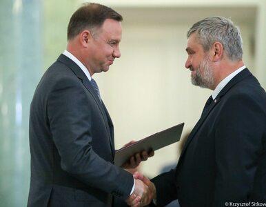 Jan Ardanowski oficjalnie nowym ministrem. Powołał go prezydent Andrzej...