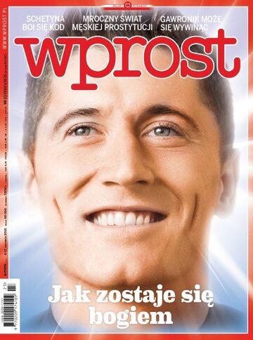 Okładka tygodnika Wprost nr 23/2016 (1739)