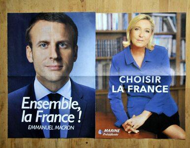 Francja wybiera prezydenta. Ostateczne starcie Le Pen z Macronem
