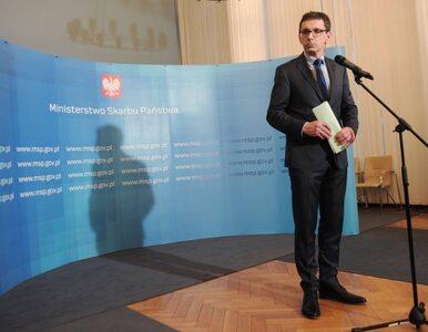 Tusk odwołał ministra skarbu. Karpiński za Budzanowskiego