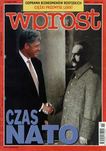 Okładka tygodnika Wprost nr 11/1999 (850)