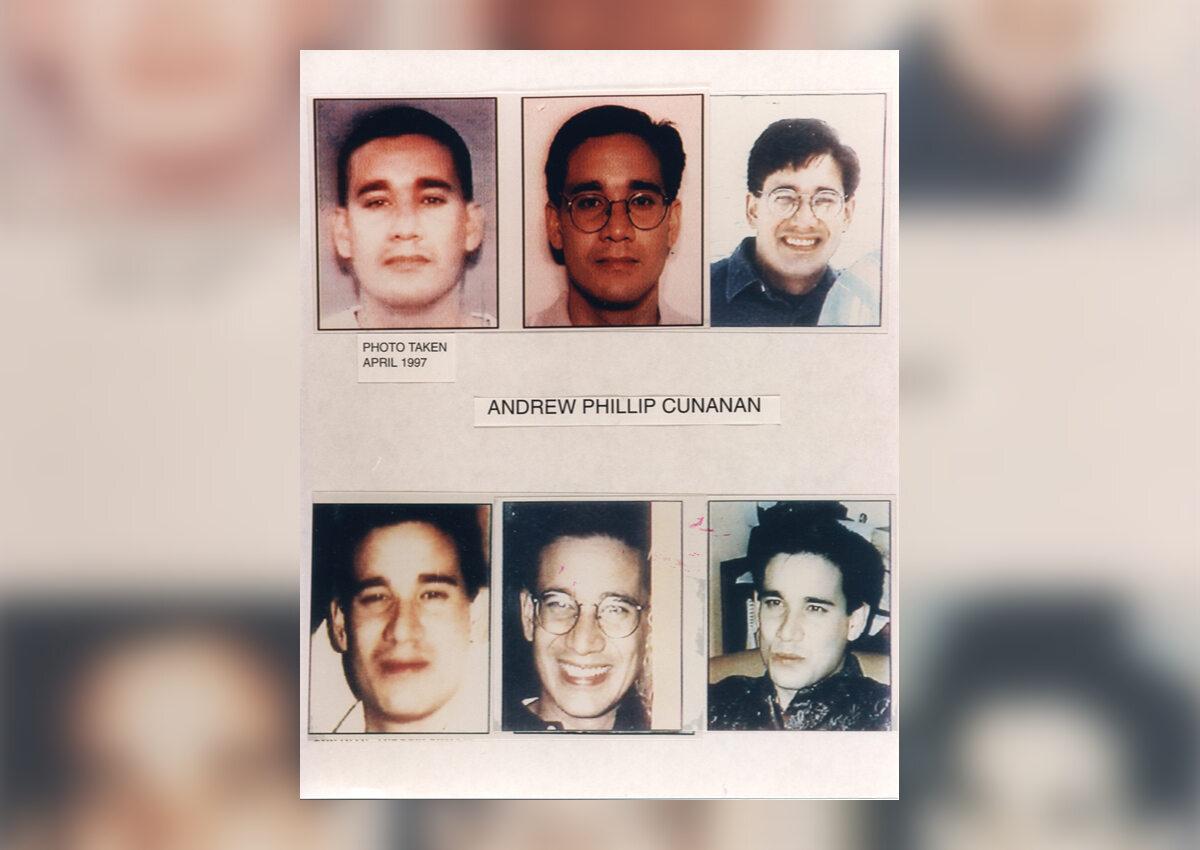 Andrew Cunanan - zabójca Versace - na portretach pamięciowych zgromadzonych przez FBI