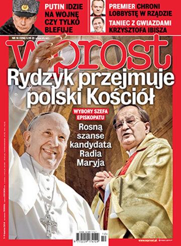 Okładka tygodnika WPROST: 10/2014